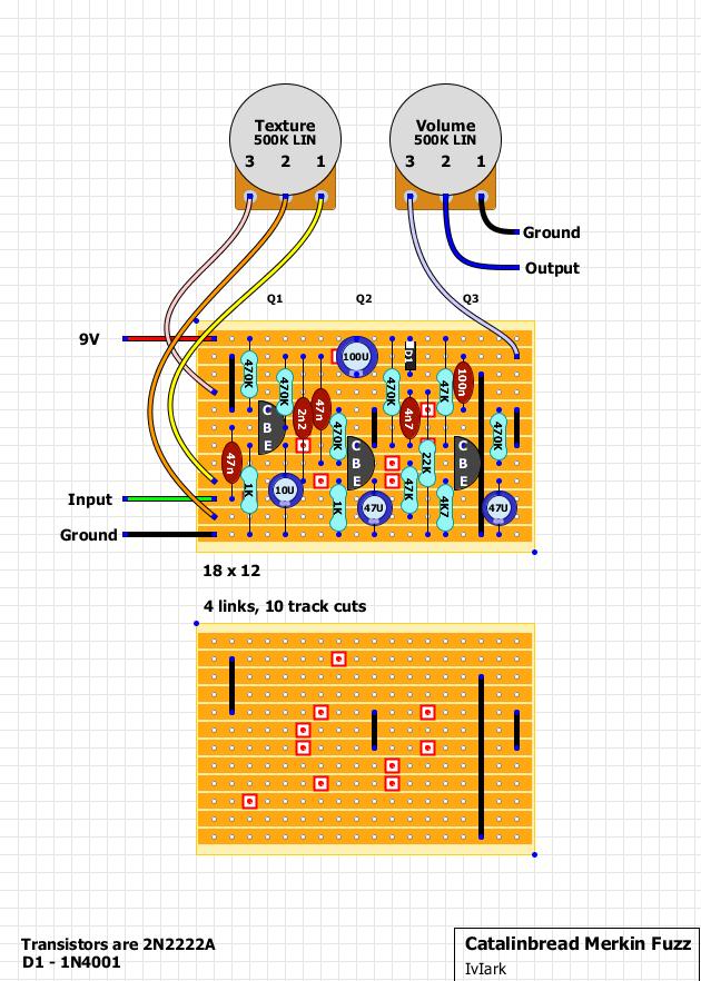 Guitar Pedal Vero Layouts : merkin fuzz vero pedal schems guitar diy guitar guitar pedals ~ Hamham.info Haus und Dekorationen