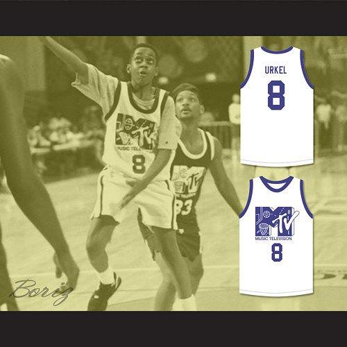 Steve Urkel 8 Basketball Jersey Rock N  Jock B-Ball Jam  327155e98