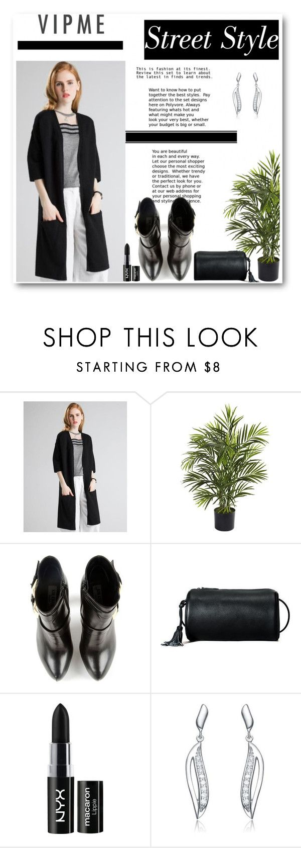 """""""Vipme 27"""" by mary-turic ❤ liked on Polyvore featuring Nearly Natural, Kim Kwang, NYX and vipme"""