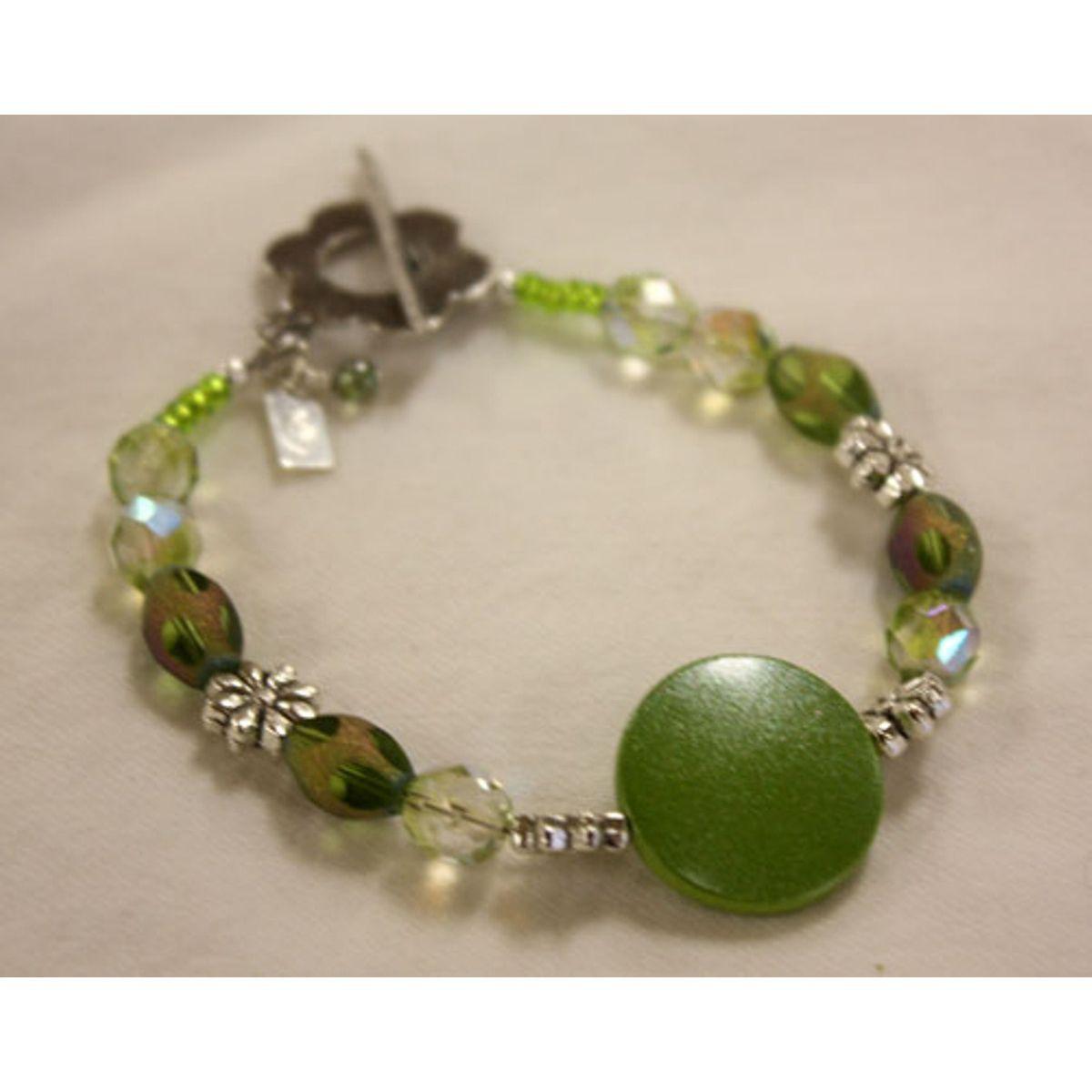 Sterling Silver 'Blossom' Bead Bracelet