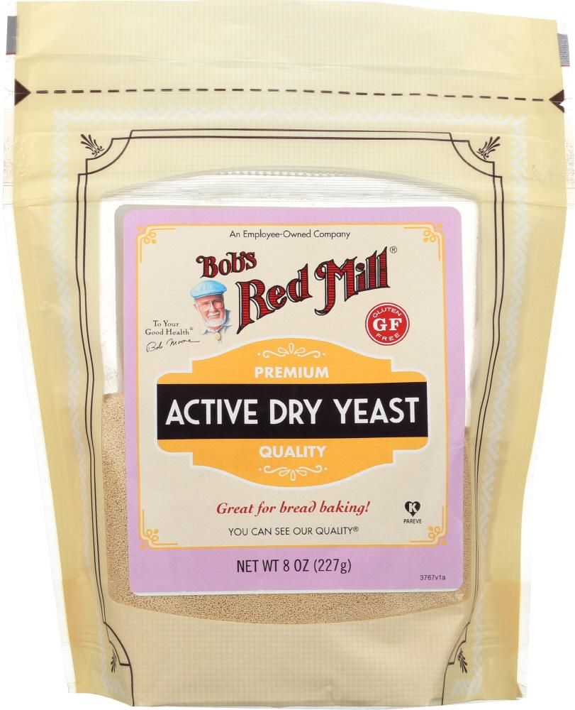 Bobs red mill active dry yeast 8 oz bobs red mill dry