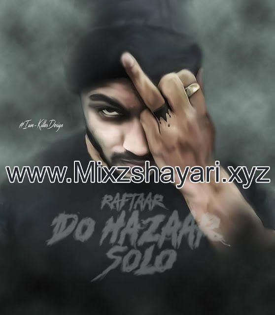 Do Hazaar Solo - RAFTAAR - Full Audio Song - Free Download