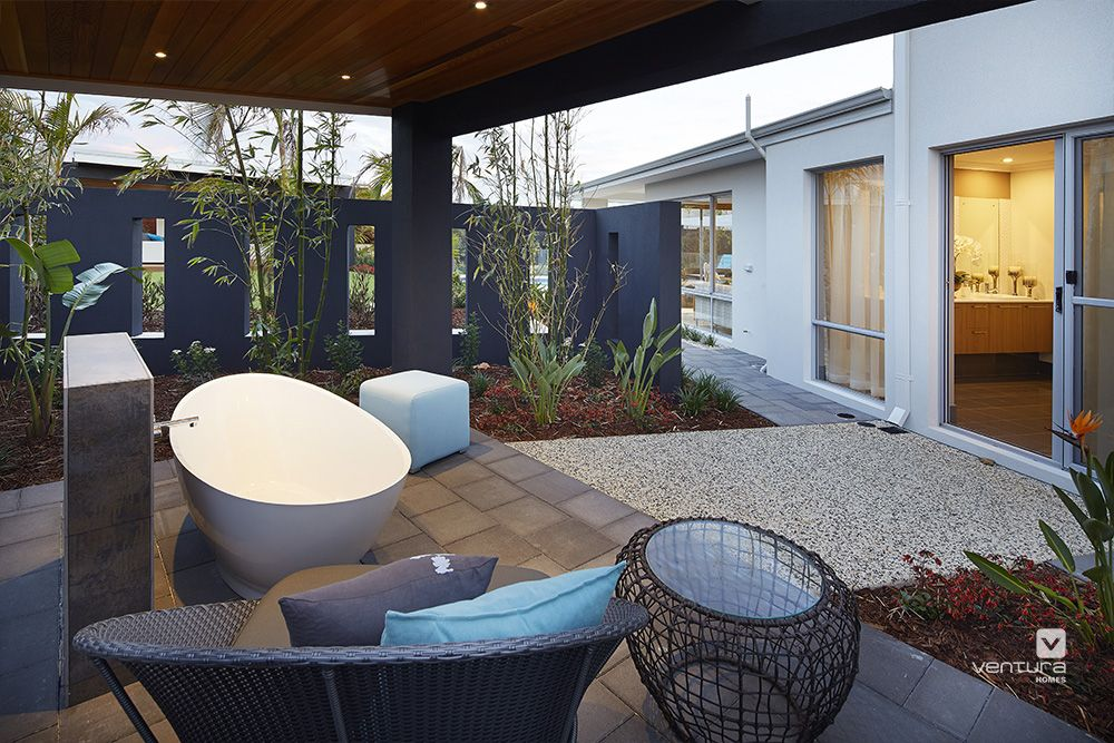 Alfresco Patio Backyard Design. The Meridian Double Storey Display Home By  #VenturaHomes Features An