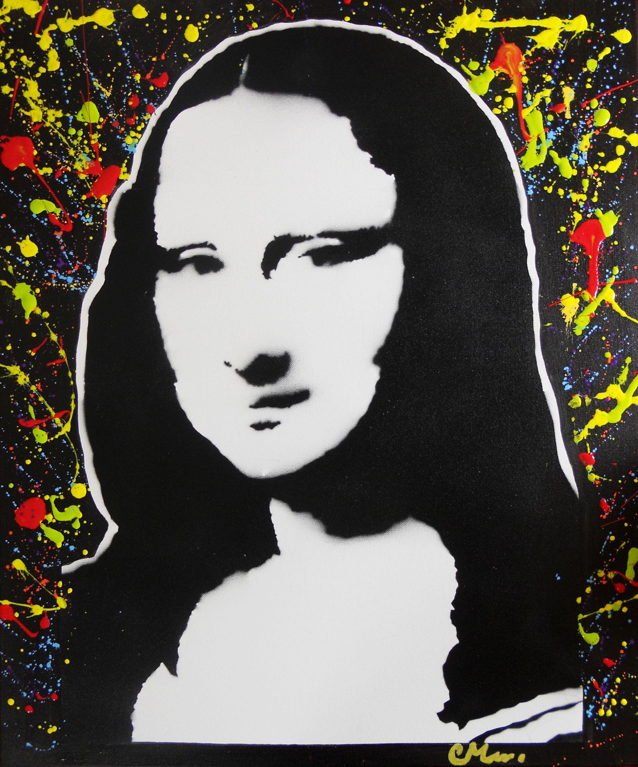 Favori tableau design pop la joconde | art tableau | Pinterest | Tableau  VO84
