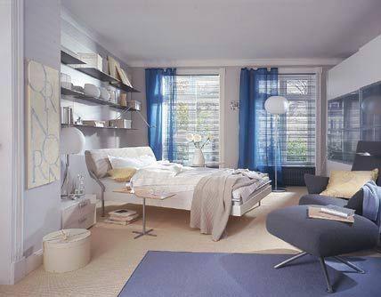 Schlafzimmer Hellblau ~ Schlafzimmer beruhigendes blau wohnwelten living at home