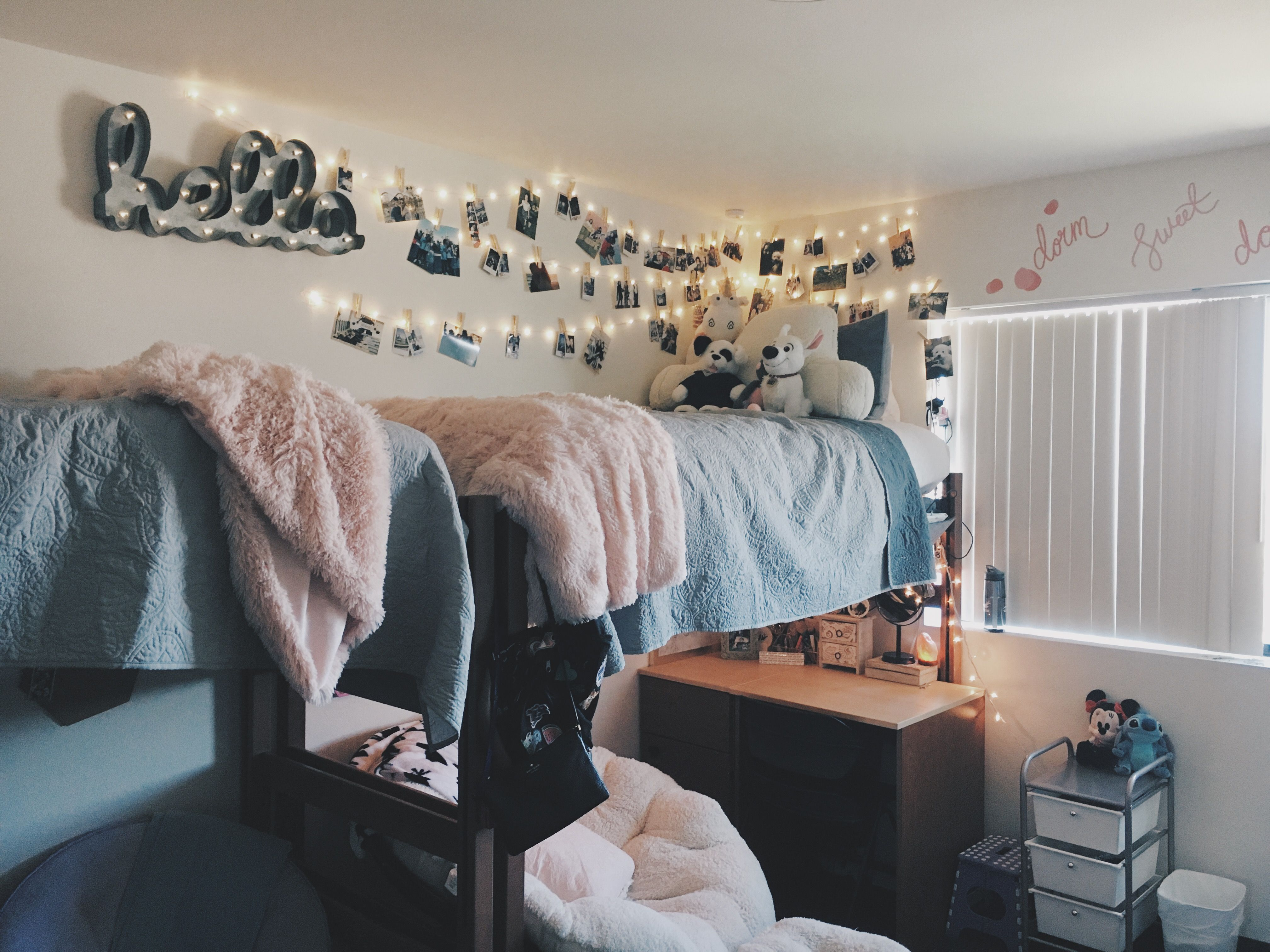 My Dorm Room At Grand Canyon University Dorm Dormroom Gcu Dorm Room Decor Dorm Room Inspiration College Room
