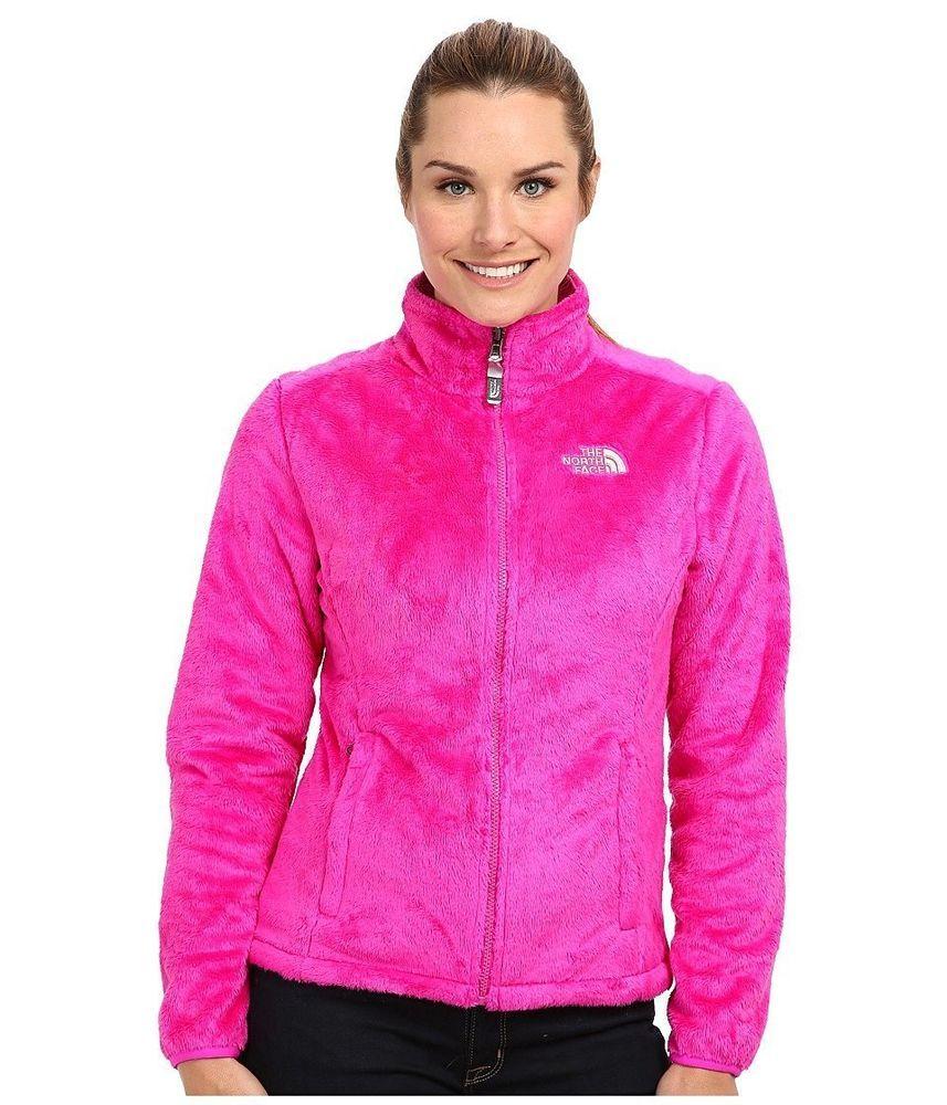 NEW The North Face Womens Osito Fleece Zip Jacket Coat Fuschia Pink XS #TheNorthFace #FleeceJacket   Jackets for women. Jackets. North face women