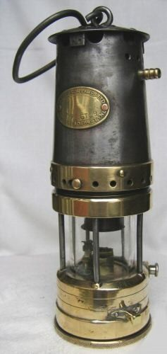 Miners Davy Lamp And Carbide Lamp Coal Miners Oil Lamps Coal Mining