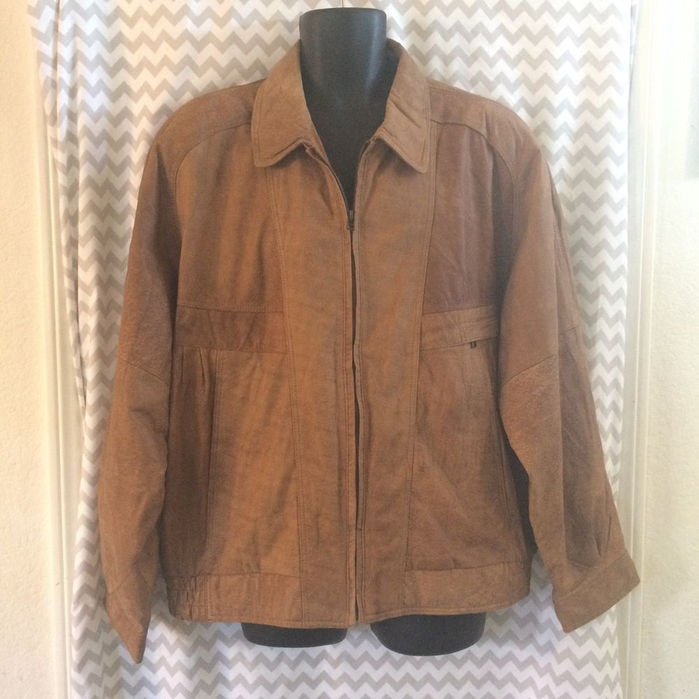 Florentino Suede Leather Bomber Jacket Tan Brown Size 56 Xl D1 Ebay Leather Bomber Jacket Leather Bomber Leather [ 1000 x 1000 Pixel ]