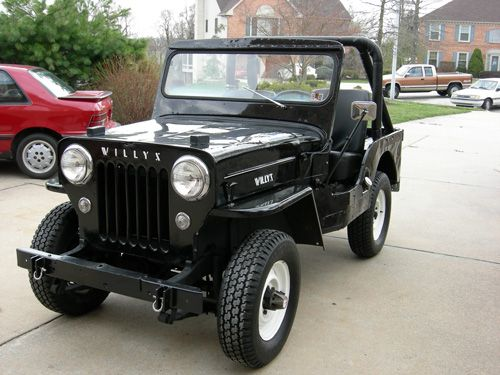 Willys Cj 3b Jeep Photo Submitted By Peirce Eichelberger
