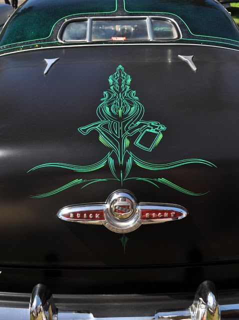 Just a Car Guy: cool pinstriping I came across at the ...