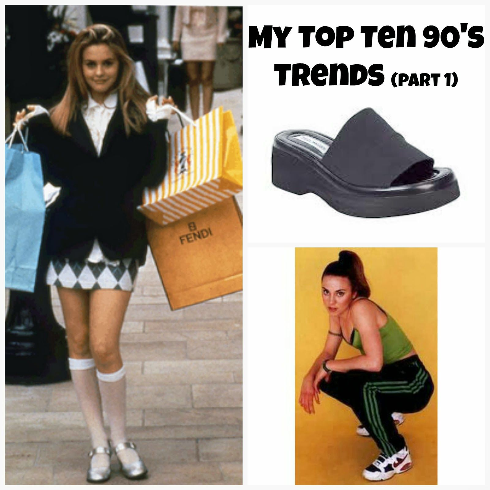 My top Ten 90's Trends (Part 1) Dancin' with A Dolly