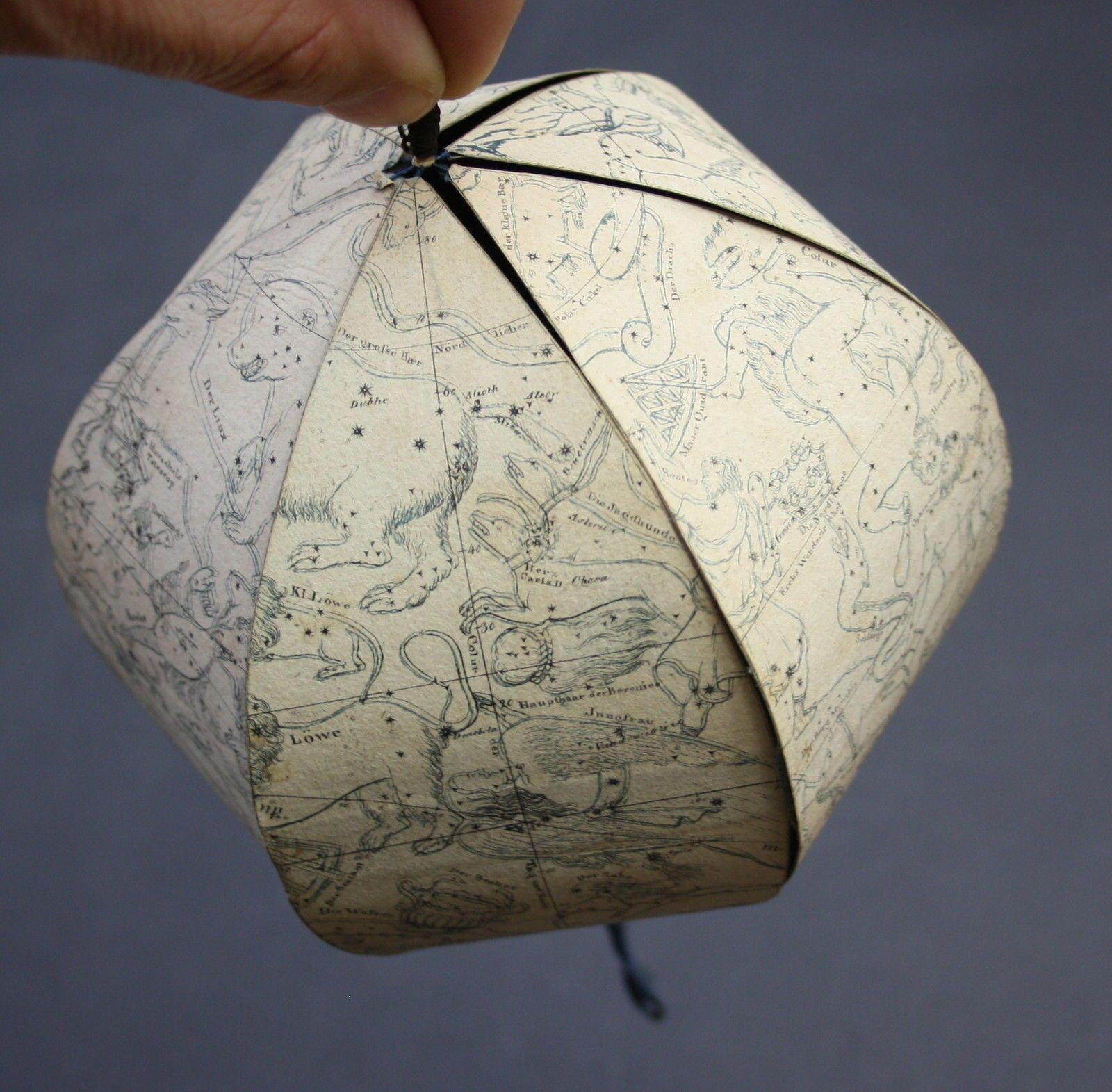 1824 celestial folding globe friedrich g schulz stuttgart world map 1824 celestial folding globe friedrich g schulz stuttgart world map globus ebay gumiabroncs Gallery