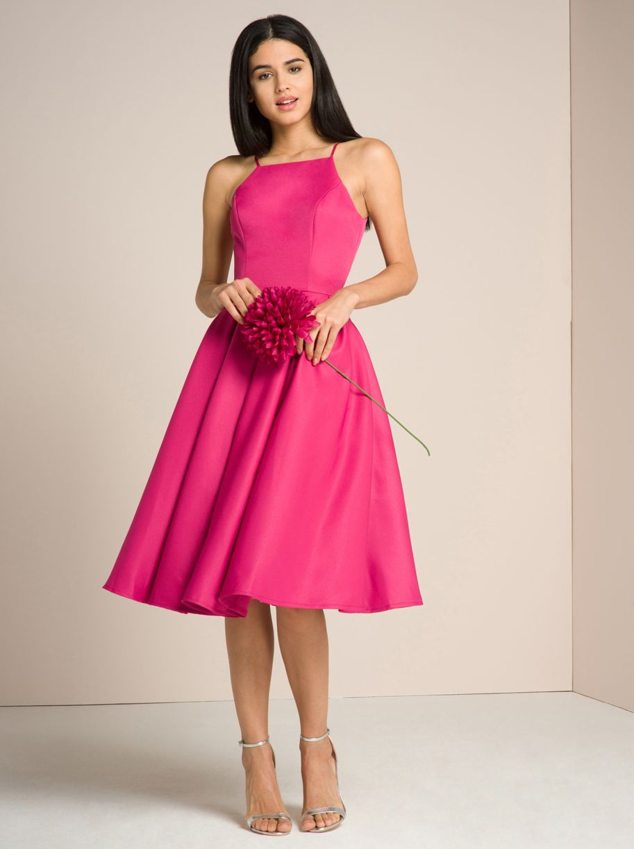 Hot pink dress | vestidos 2018 | Pinterest | Vestiditos