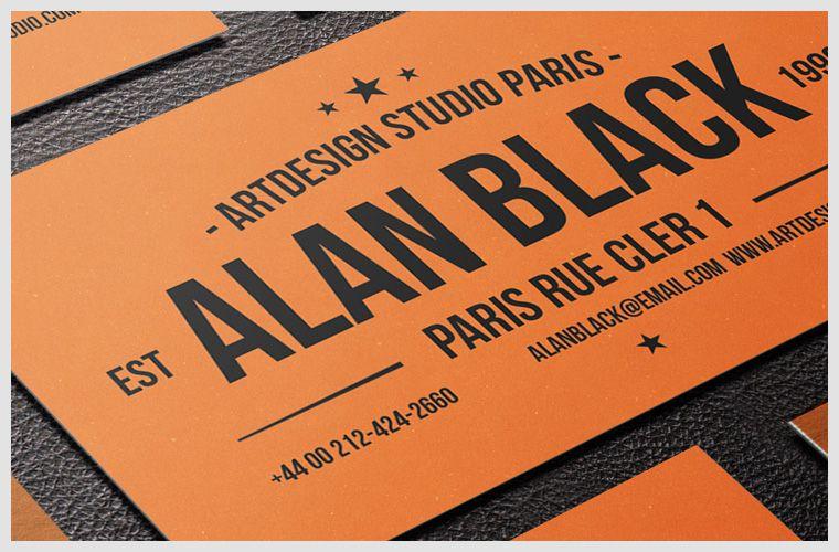 Vintage business card mockup free psd mockups pinterest vintage business card mockup reheart Images
