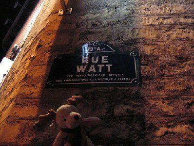 rue Watt - Paris 13e