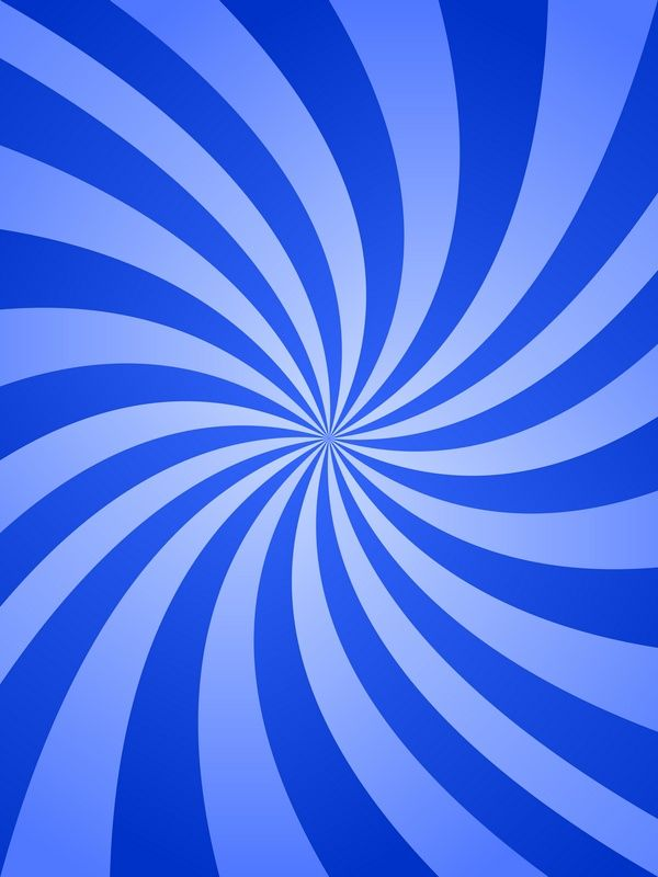 Blue Color Abstract Swirling Ray Design Background Vector