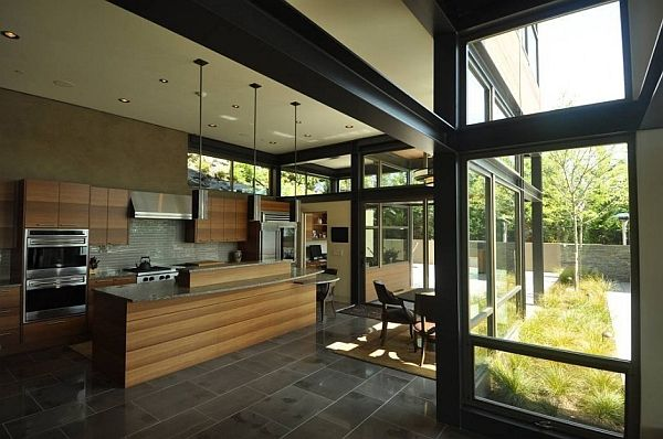 Metallic Structure Houses Designs Plans And Pictures Steel Frame House Cool House Designs Steel House
