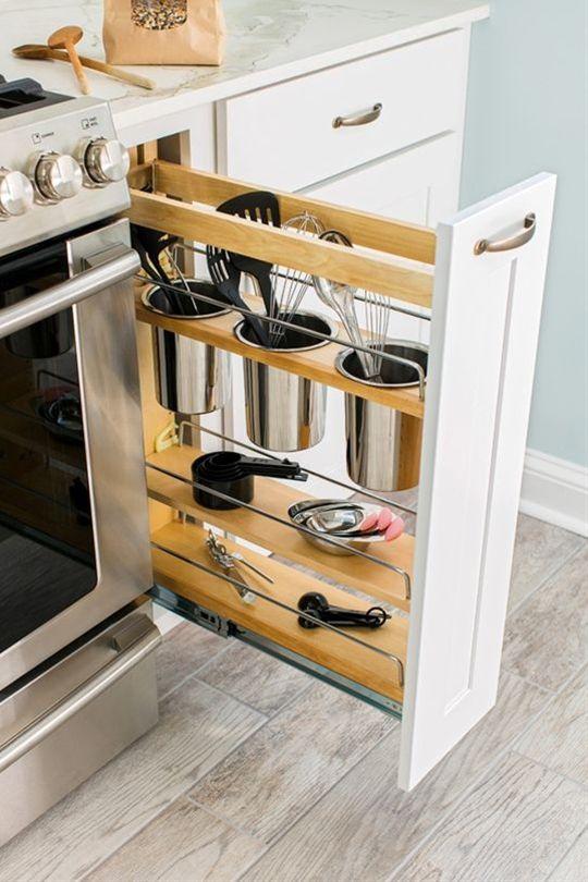 space saving details for small kitchens home decor diy kitchen rh za pinterest com