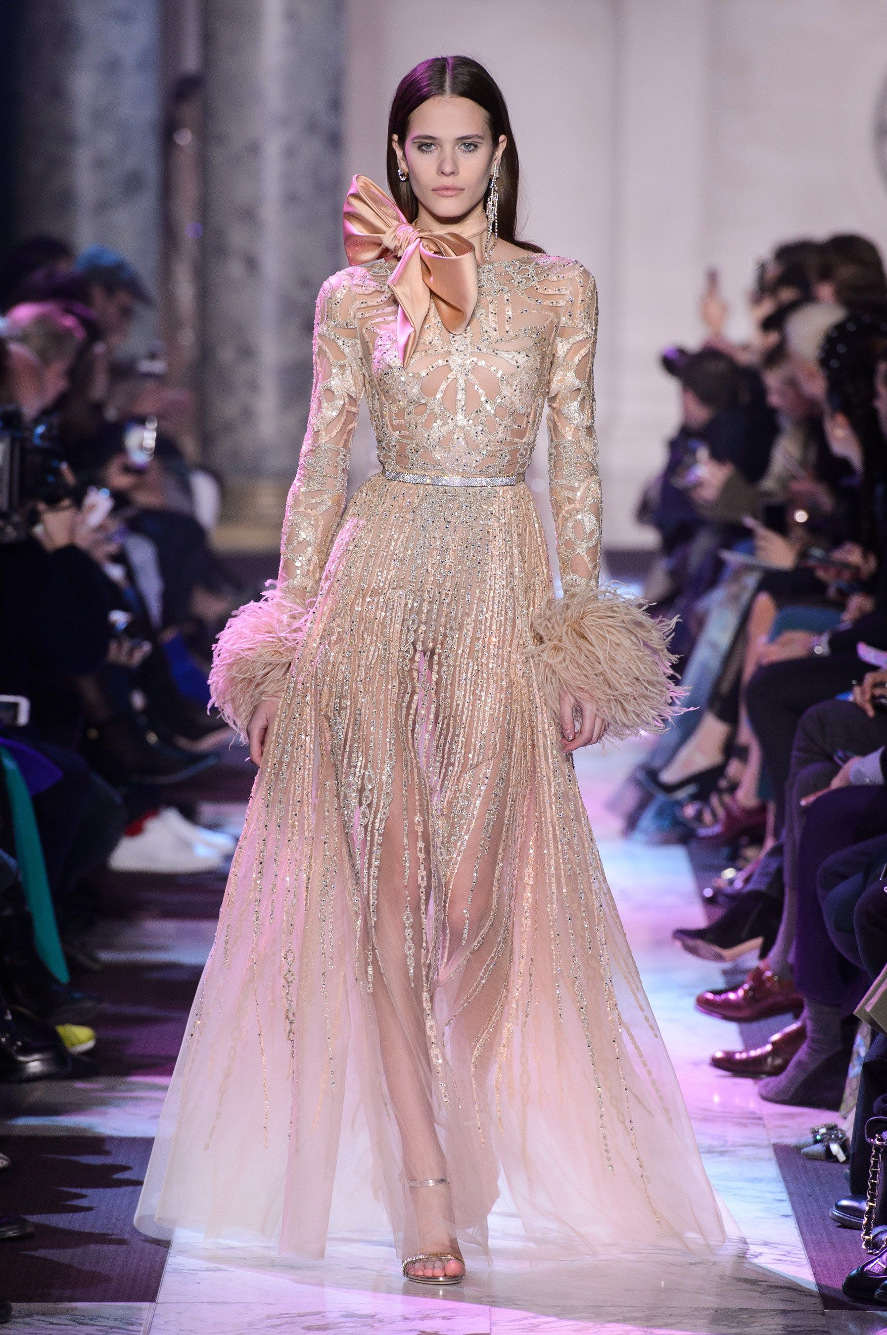 Elie Saab Spring 2018 Couture Fashion Show - The Impression   Runway ...