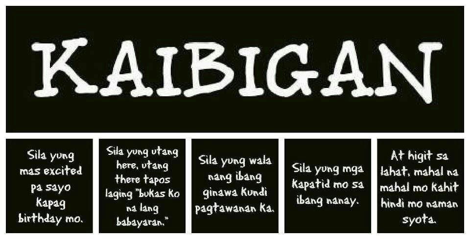 Kaibigan Talaga Things I Love Quotes Friendship Quotes Funny Interesting Quotes Tagalog About Friendship