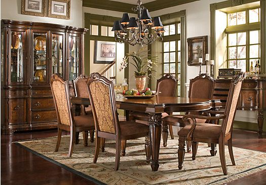 Shop For A North Boston 9 Pc Dining Room At Rooms To Go Find