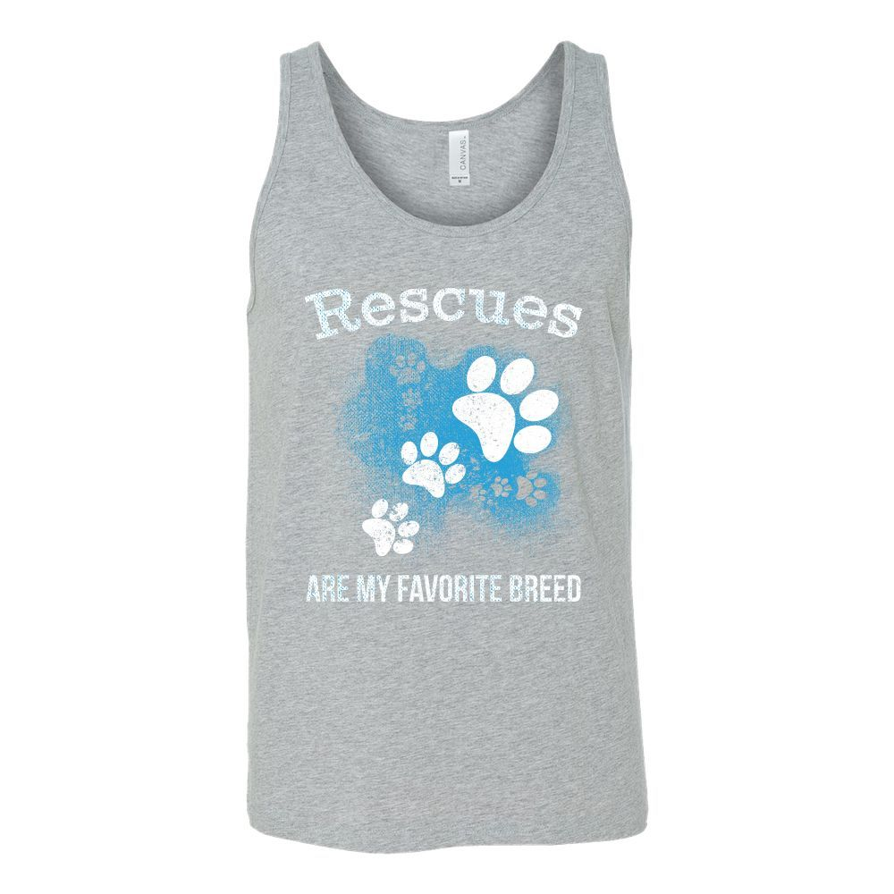 Rescues Are My Favorite Breed Unisex Tank Top T Shirt - TL00753TT