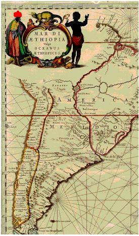 Sea Of Ethiopia Ancient Map The Darker Ages America S