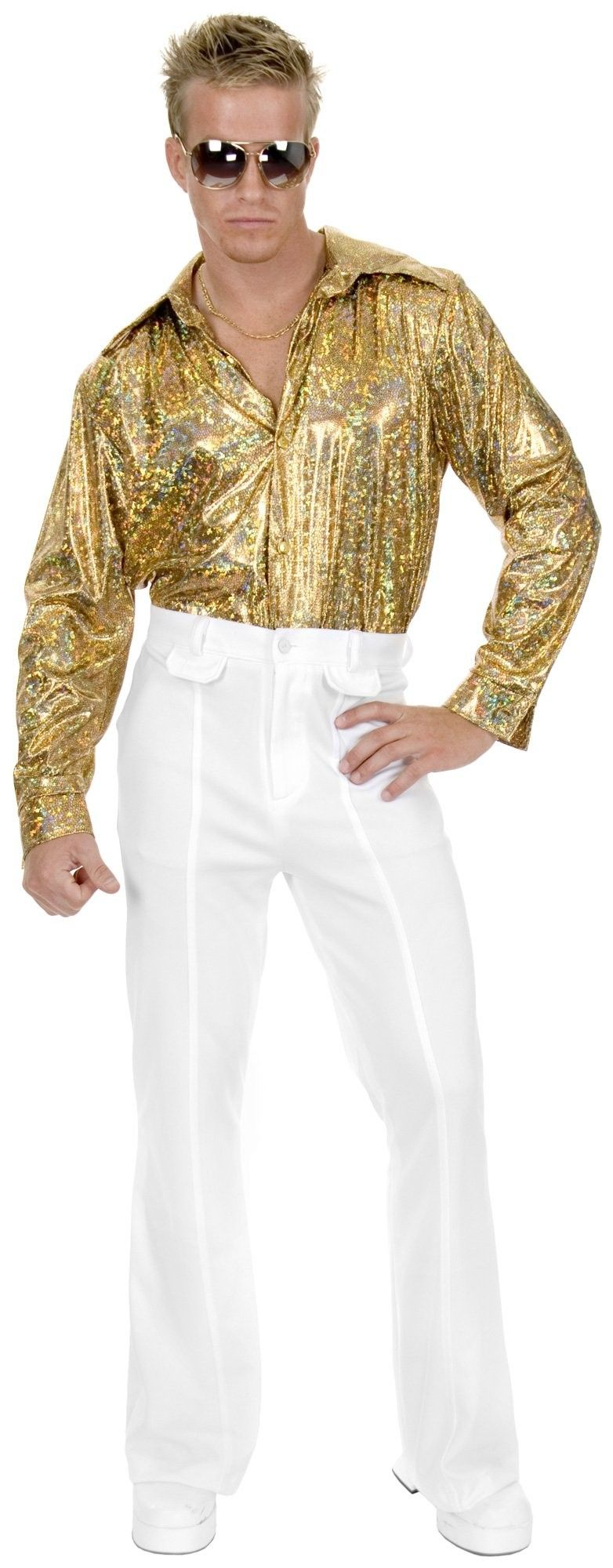 White Disco 70s 80s Plus Size 46 Mens Costume Pants | 80's ...
