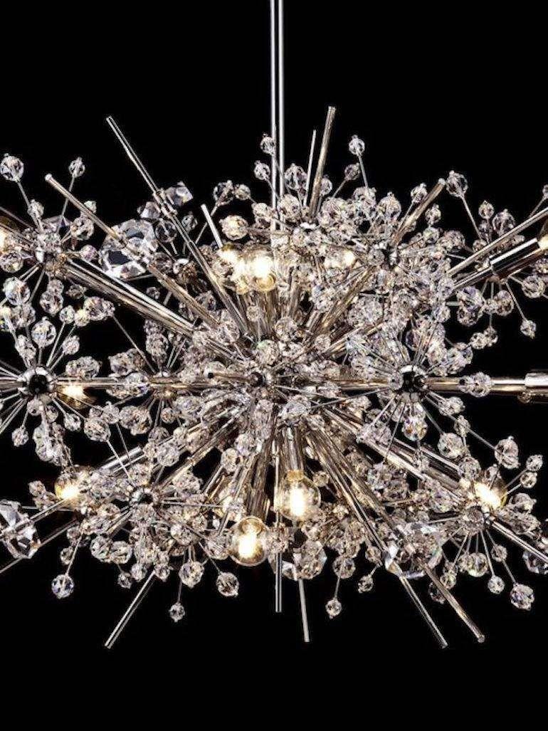 Lobmeyr Metropolitan Opera Crystal Chandelier Foyer L13 Mid Century Modern Crystal Chandelier Foyer Chandelier Crystal Chandelier