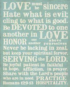 Romans 12:9-18