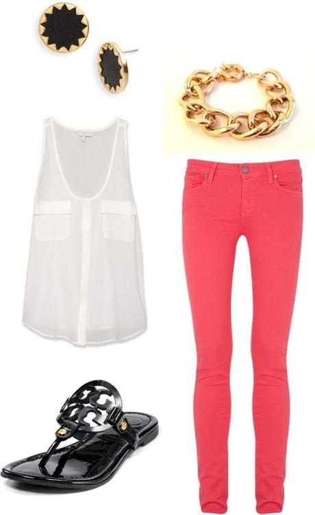 Red Jeans - quiero una blusa asi!!
