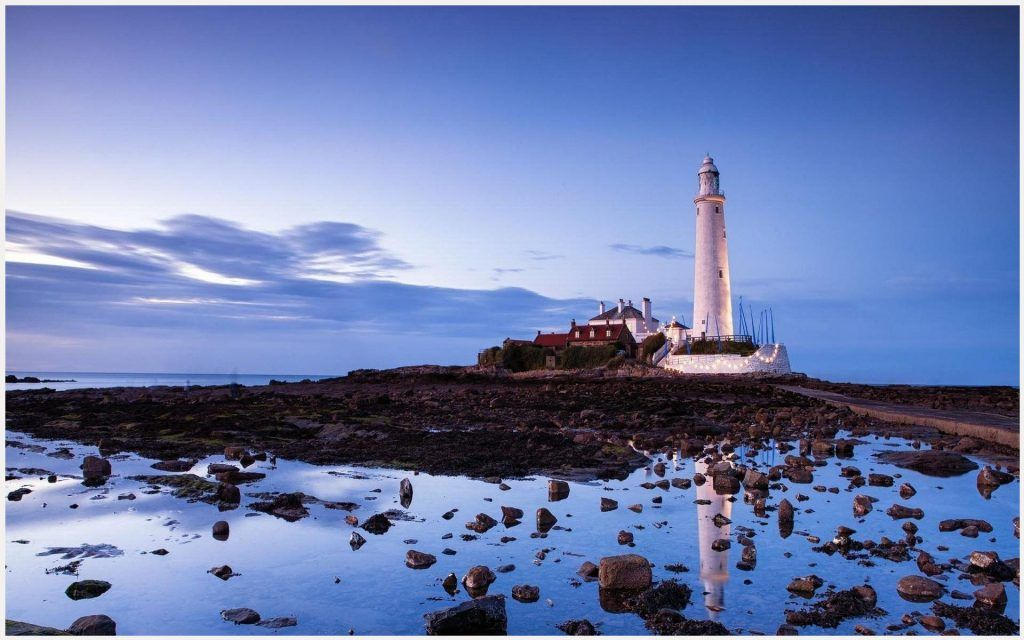St Marys Lighthouse Wallpaper
