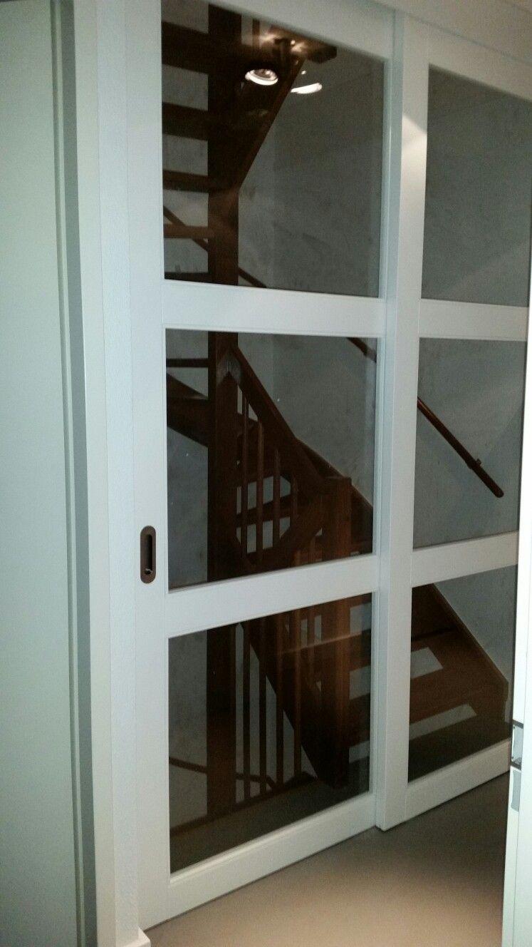 Schuifdeur voor trap op maat rimo schuifdeuren voor open for Trap op maat bestellen