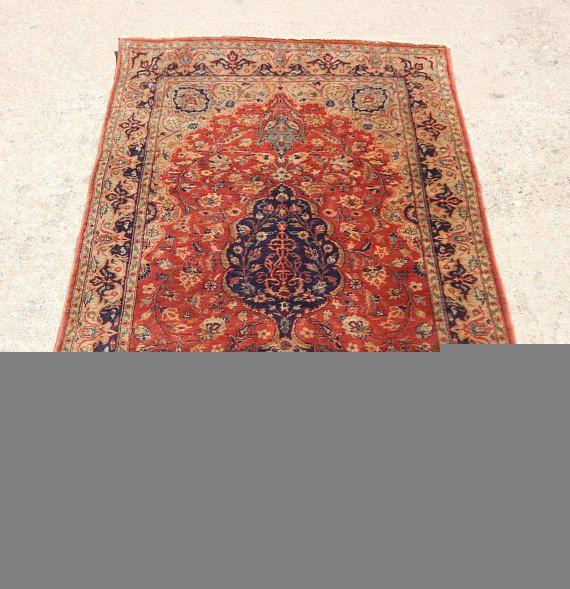 Antique 1920s Persian Kashan Prayer Rug Prayer rug, Rug