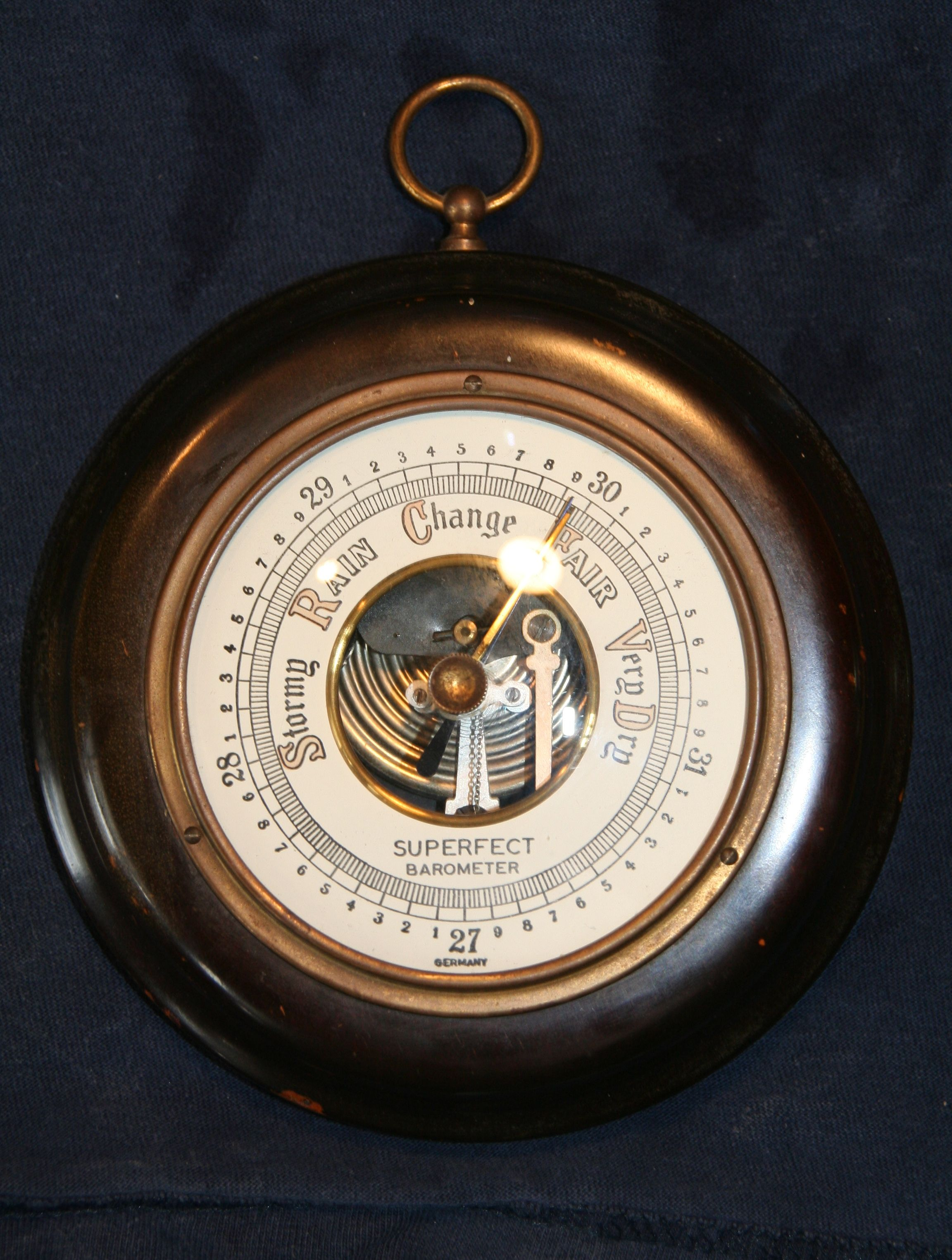 The Superfect Barometer - Made In Germany
