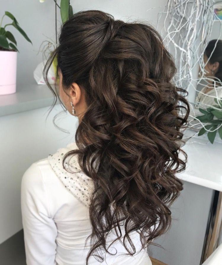 Wedding Hairstyles Brunette: Peinados Quinceañeras