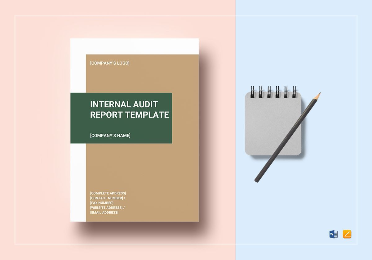 Internal Audit Report Template Throughout It Audit Report Template Word Cumed Org Report Template Internal Audit Templates