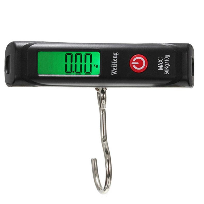 $7.64 (Buy here: http://appdeal.ru/3vsr ) 50kg/10g Portable Digital Electronic Luggage Scale Hook Weight Hanging Travel Kitchen Scale 88 for just $7.64