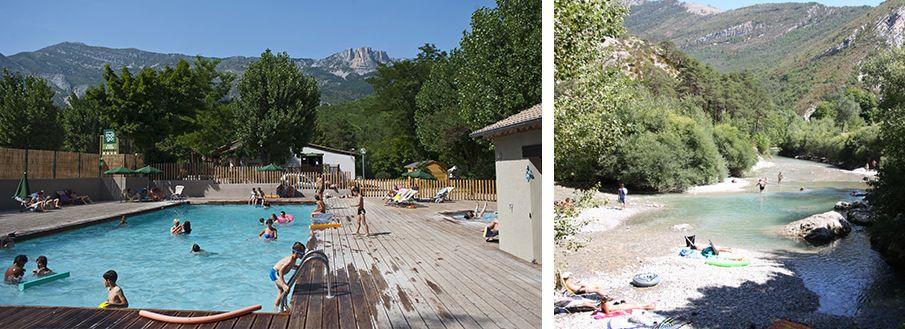 Camping des gorges du verdon castellane gorges du for Piscine castellane