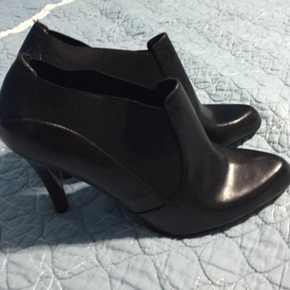 Nine West ankle shoes size 8.5 new New little bit wear on the bottom they were displayed Nine West Shoes Ankle Boots & Booties