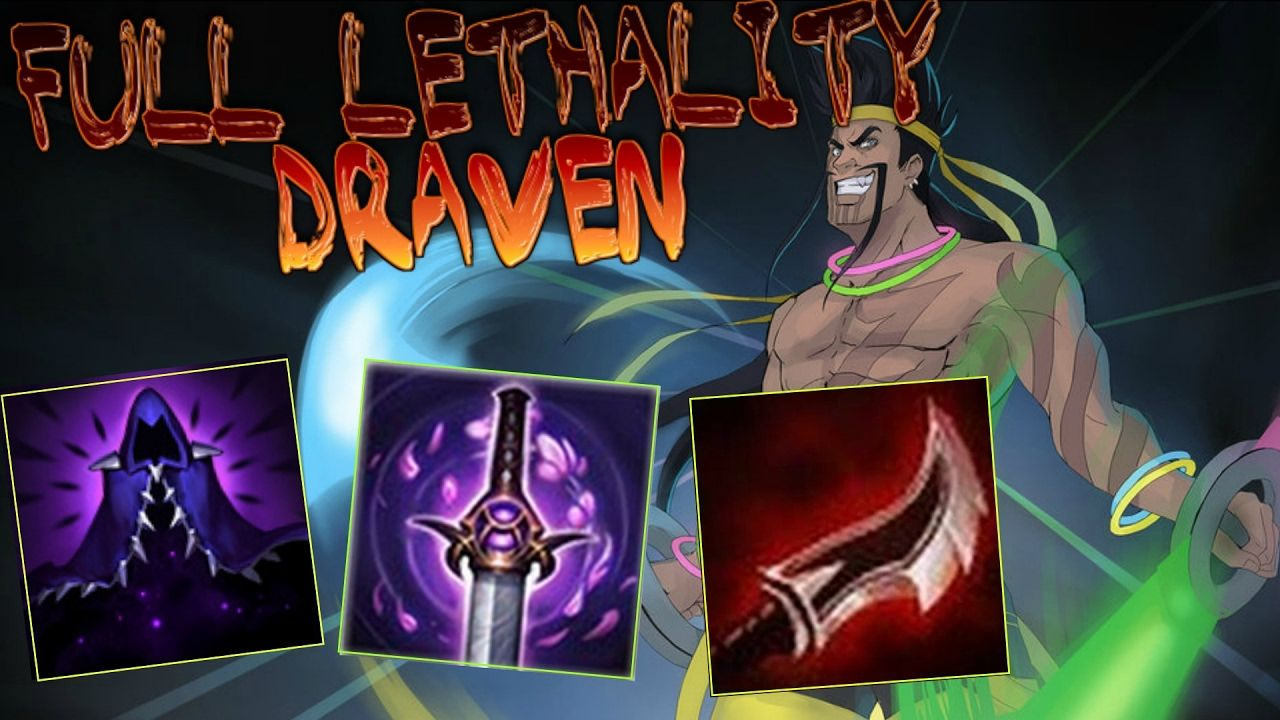 Full Lethality Draven Montage! https://www.youtube.com/watch?v=bUJd-ajucFg #games #LeagueOfLegends #esports #lol #riot #Worlds #gaming