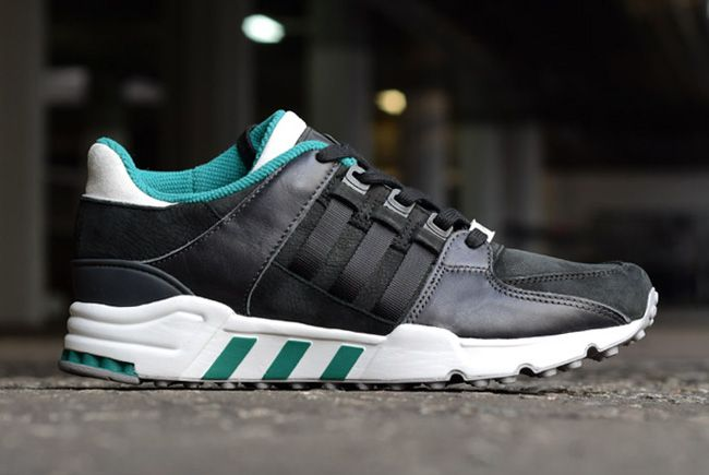 Adidas Consortium Eqt Running Support 93 Black Sub Green