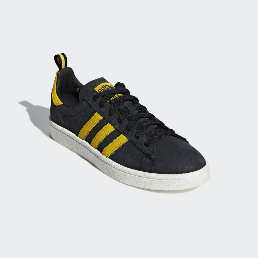 4464e8488ad7b6 Adidas Campus Black   Yellow  70 Shipped at Adidas (Retail  100)  sponsored