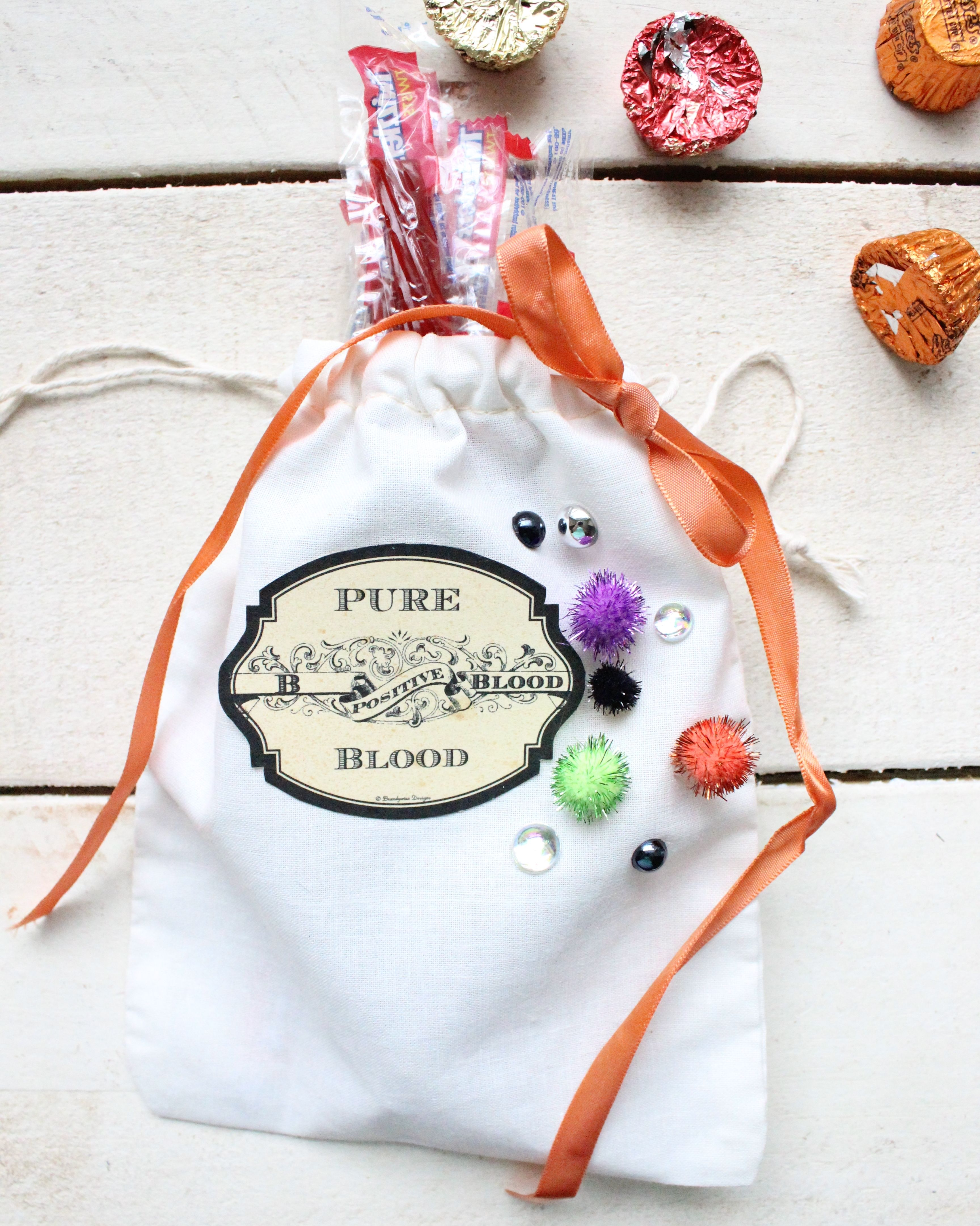 DIY Mini Halloween Treat Bags for Adults Halloween treat