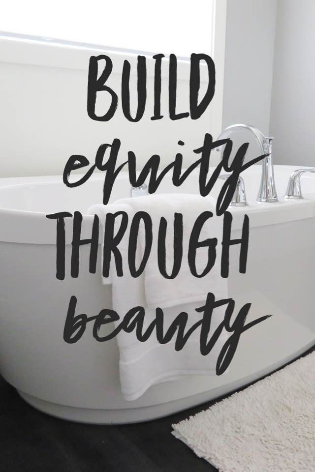 Want To Build Home Equity  Start With The Bathroom