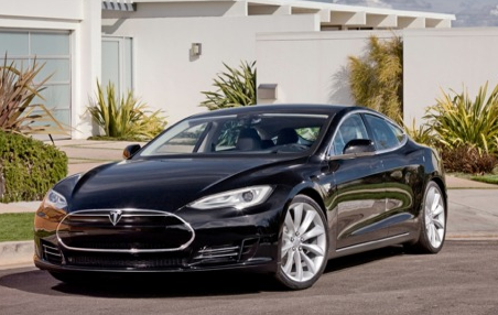 Here Comes The Tesla Model S A Month Early Tesla Motors Model