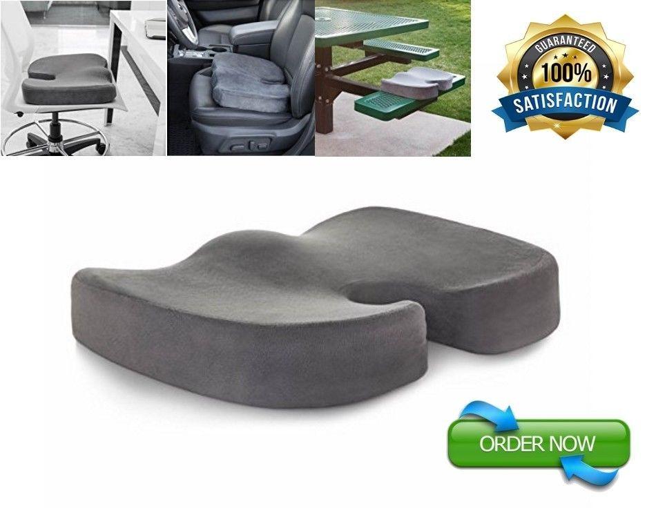 Miracle Orthopedic Bamboo Soft Foam Seat Cushion Comfort Pad Seat Pillow Chair Linenspa Seat Cushions Cushions Chair