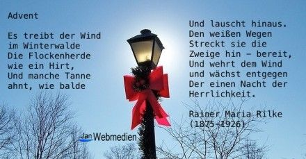 Advent Rainer Maria Rilke Advent Rainer Maria Rilke Bilder