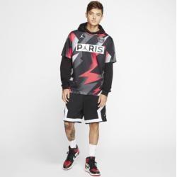Paris Saint-Germain Kurzarm-Oberteil für Herren – Schwarz Nike